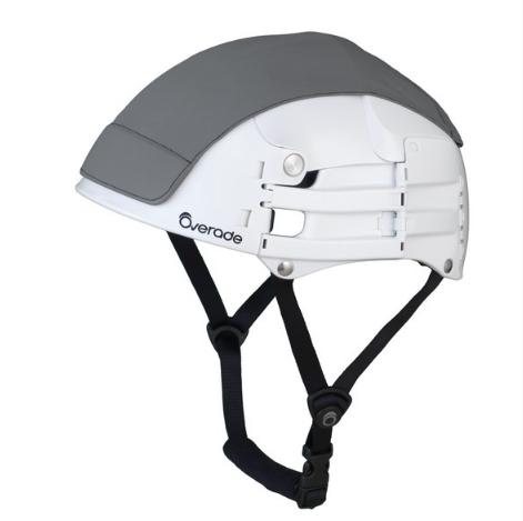 cover casque pliant plixi gris