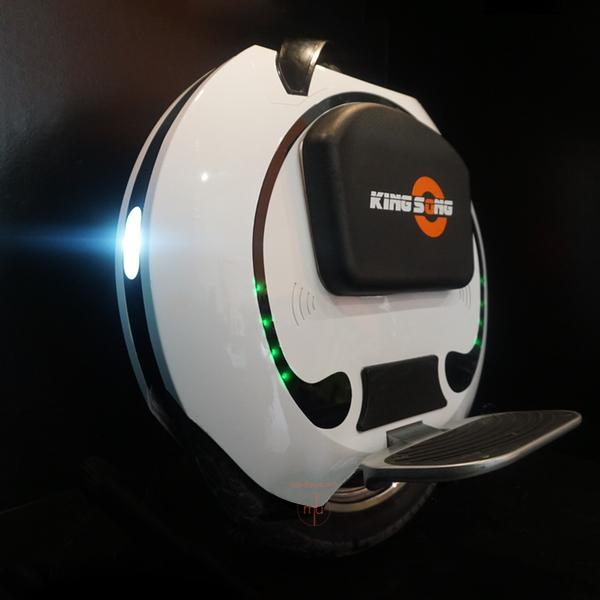 monowheel Kingsong KS16A Mobilityurban éclairage