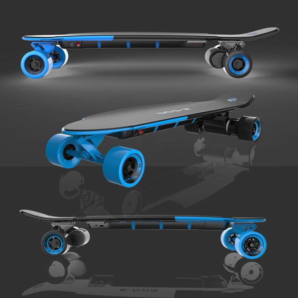 skate board electrique yuneec ego 2 Bleu devant