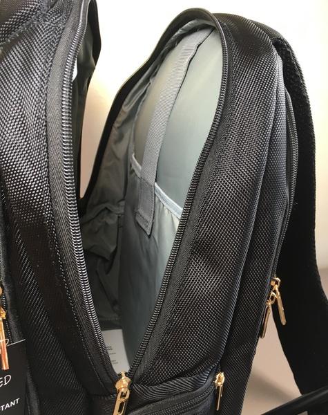 grande poche centrale nomadled sac à dos clignotnats velo