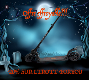 trottinette electrique Ltrott For your
