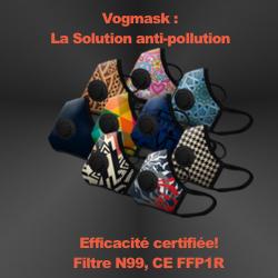Masque antipollution vélo