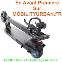 Egret One V4 en exclusivité chez Mobilityurban