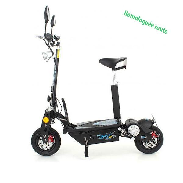 trottinette lectrique sxt scooter 1000xl homologu e route. Black Bedroom Furniture Sets. Home Design Ideas