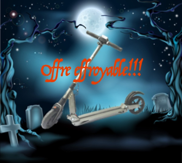 Haloween offre effroyable booster