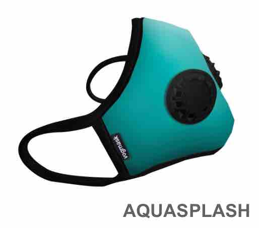 2017 Masque antipolltion vogmask FPP2 AQUA