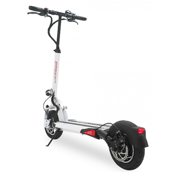 trottinette electrique minimotors speedway 4 blanche