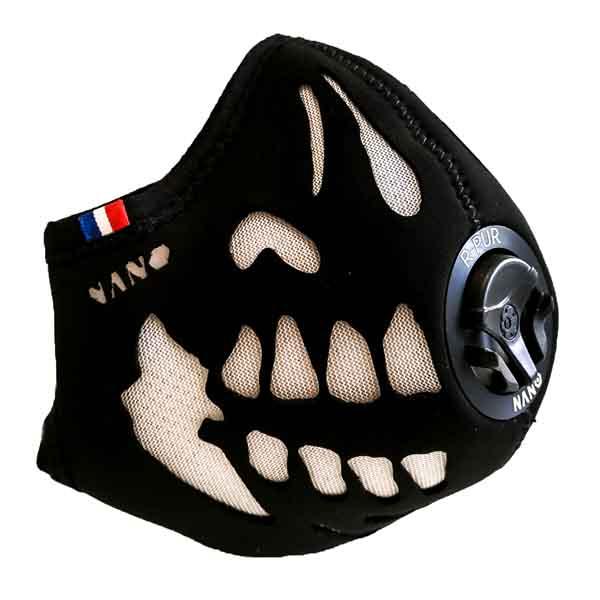 masque anti pollution r pur certifier fpp3 pour 2 roues. Black Bedroom Furniture Sets. Home Design Ideas