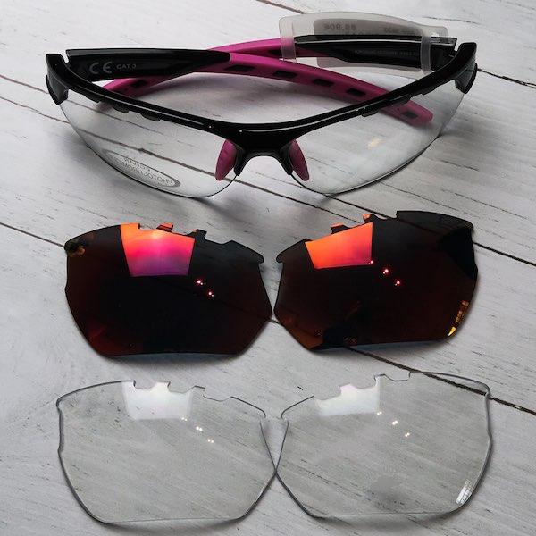 kit lunette velo AZR kromic solaire vuelta