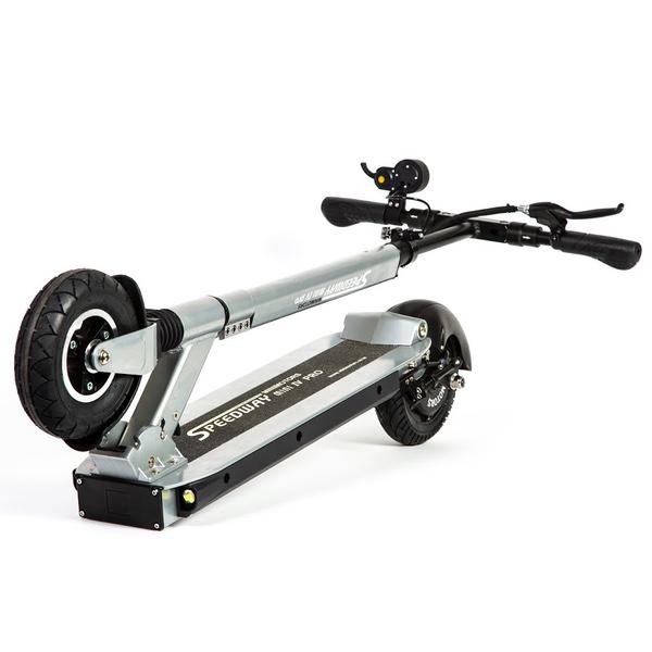 trottinette électrique mini 4 ed limitée alu brossé speedway