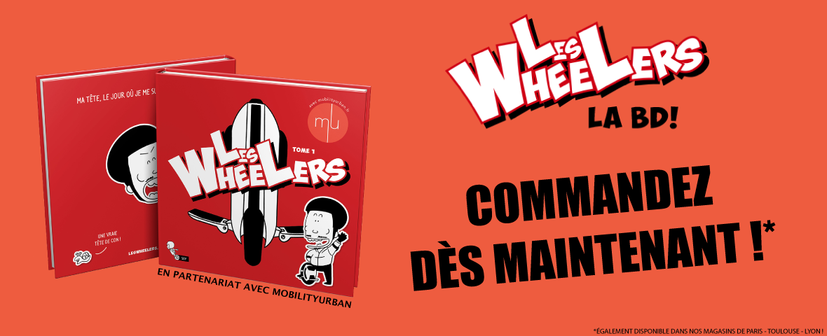 Les wheelers - La BD