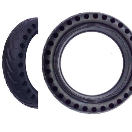 roue increvable gomme pleine pour xiaomi trottinette