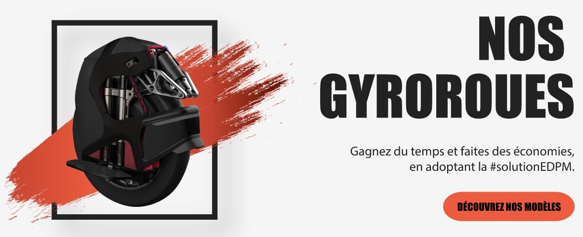 gyroroue et roue électrique