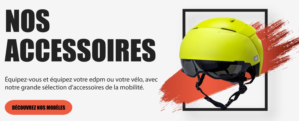 Accessoires pour trottinette électrique et vélo et VAE