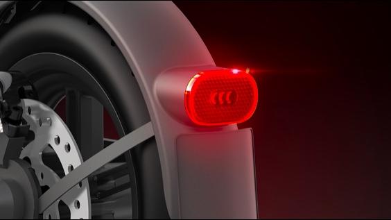 xiaomi pro 2 trottinette electrique phare arrière