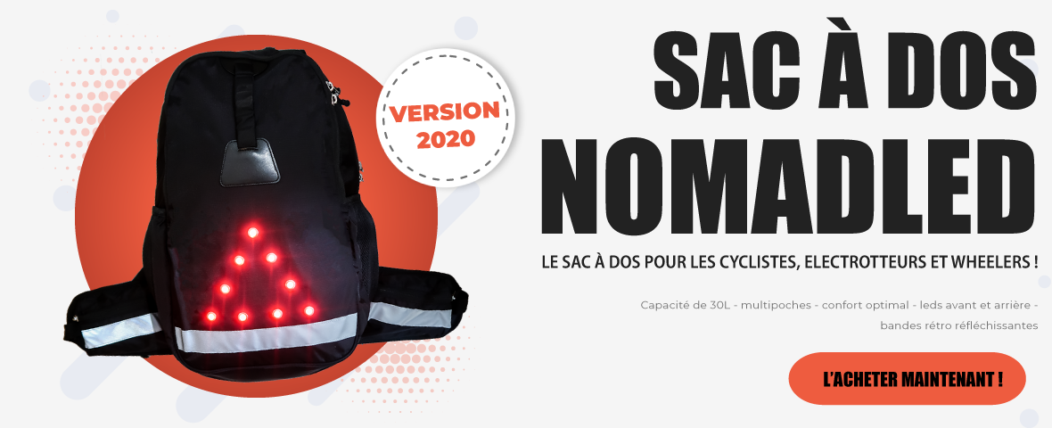 Sac a dos 30L Led de securite