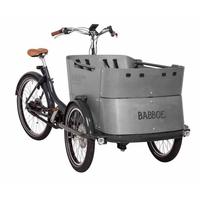 vélo cargo à moteur Pédalier BABBOE CURVE MOUNTAIN