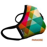 VOGMASK Taille LARGE: Masque anti pollution N99/FFP1 CV(charbon actif)
