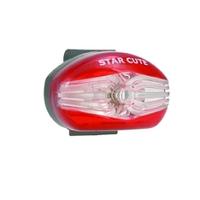 Eclairage arrière pour vélo Led STAR CUTE