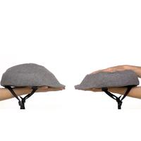 Casque pliant avec couvre casque