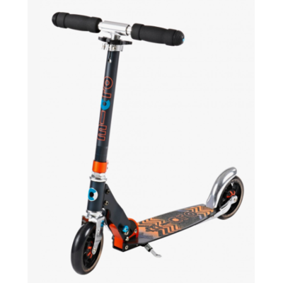 trottinette micro black et orand speed+
