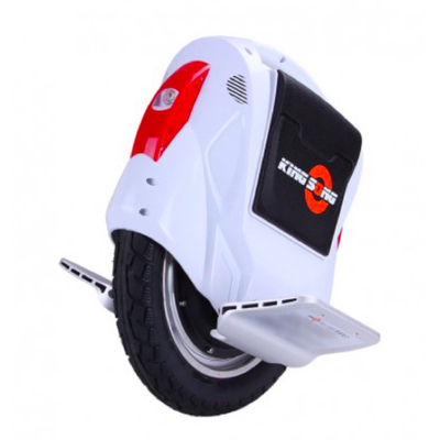 GyroRoue kingsong 14C wheel monocycle electrique blanche
