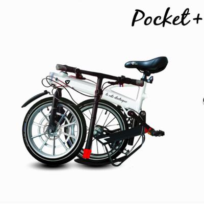 velo electrique pliable mini vlec pocket plus noir