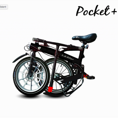 Velo pliant electrique ultraleger VLEC Pocket +