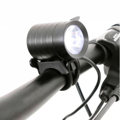 Eclairage led avant 1200 lumens casque guidon sur batterie