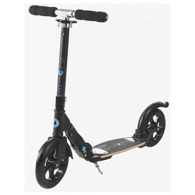 Trottinette Adulte Micro Flex Black roues 200 mm