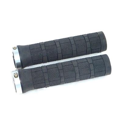 Kit de deux poignées caoutchouc noir pour trottinette électrique