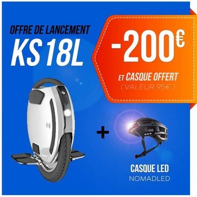 Roue électrique KINGSONG KS18 L 1036WH