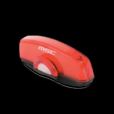 Eclairage visibilité barrette rouge Sticklightred MSC