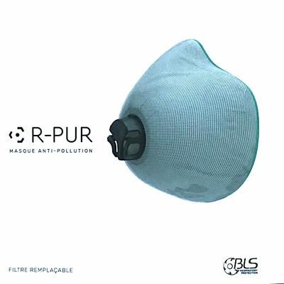 Filtre de remplacement pour masque anti pollution RPUR NANO V2
