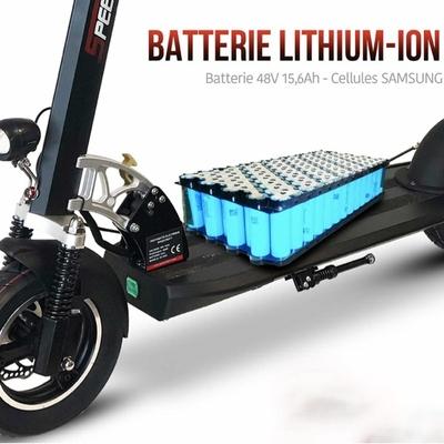 Trottinette électrique Speedtrott ST16 GX roue 10 pouces