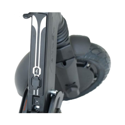 Pliage trottinette electrique etwow booster GT 48V 10,5AH grise