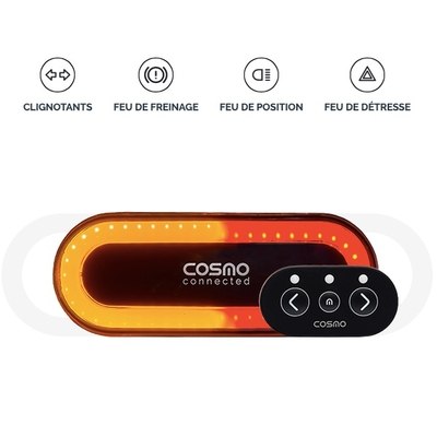 Cosmo ride feu amovible connecté