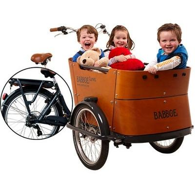 Vélo cargo électrique curve-E Triporteur