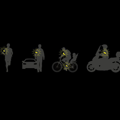 brassard-visibilite-nuit-led-enroulement auto