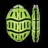 casque velo morpher pliant pliable vert