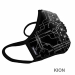 2017 Masque antipolution vogmask KION 2