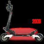trottinette electrique RX2000 double moteur noir speedtrott