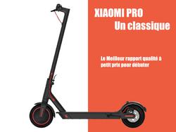 Trottinette électique Xiaomi Pro texte