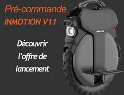 Inmotion V11 offre lancment carré