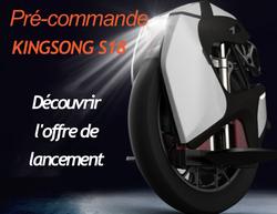 roue Kingsong S18 offre de lancement