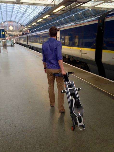 scooter electrique leger pliable compactSTIGO
