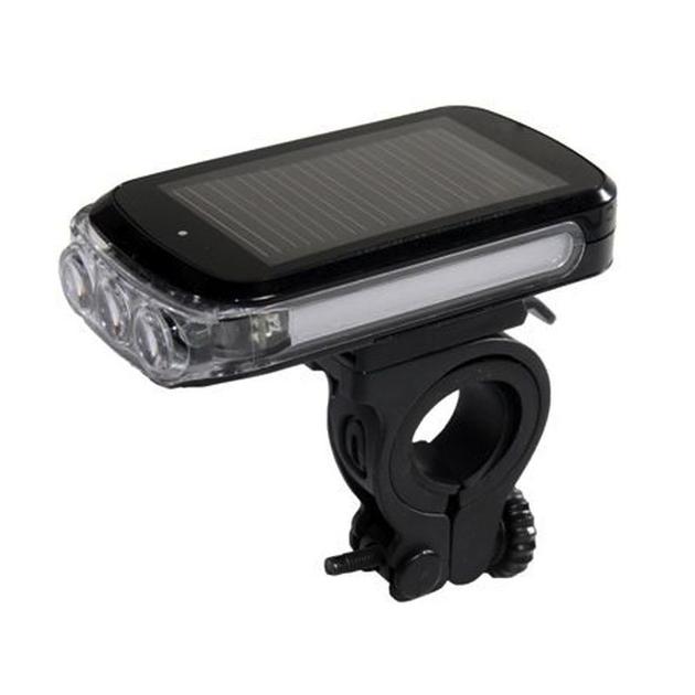 eclairage avant pour v lo ou trottinette avec capteur solaire accessoires eclairages. Black Bedroom Furniture Sets. Home Design Ideas