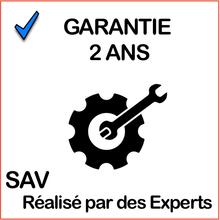 2017 Garantie Bleu cadre orange