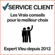 2017 service client Gris:orange