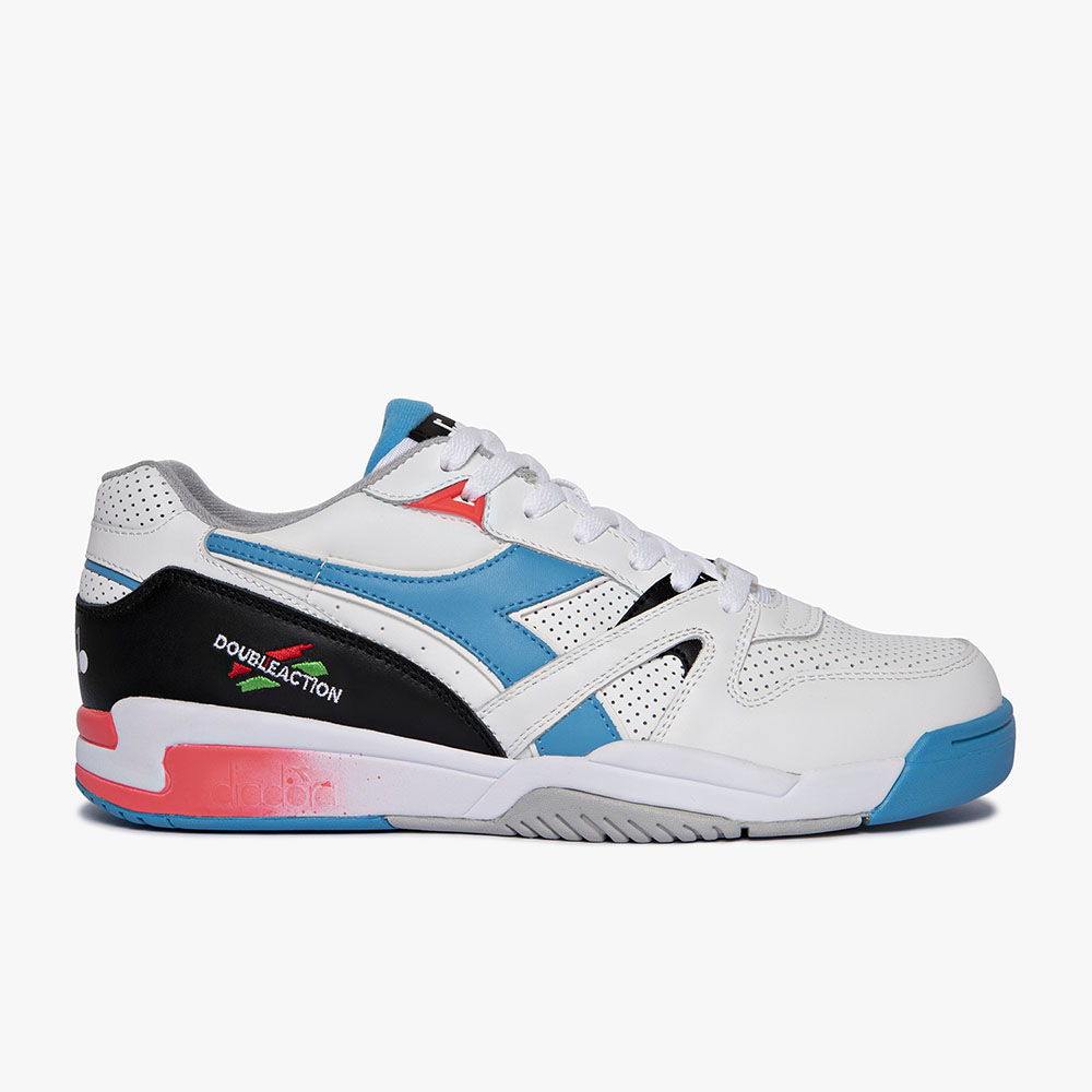 Basket-Diadora-Duratech-Elite-Blanche-Rose
